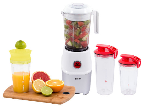 Smoothie mixér Domo DO9184BL Nutri Xpower s citrusovačem