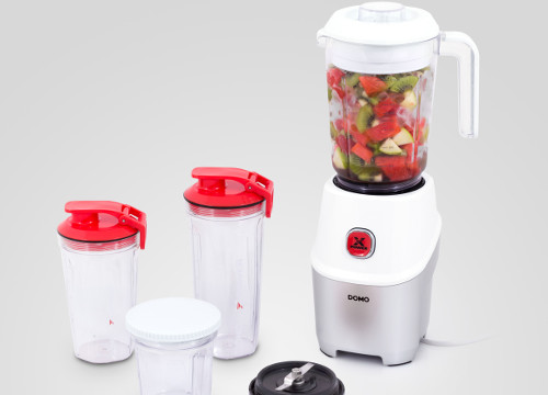 Smoothie mixér Domo DO9185BL Nutri Xpower s kávomlýnkem