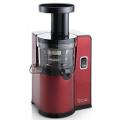Červený vertikální šnekový odšťavňovač Sana EUJ-808