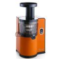 Oranžový vertikální šnekový odšťavňovač Sana EUJ-808